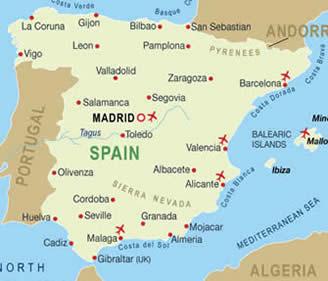 Spain Map Of Languages.Spanish Mustgo Com