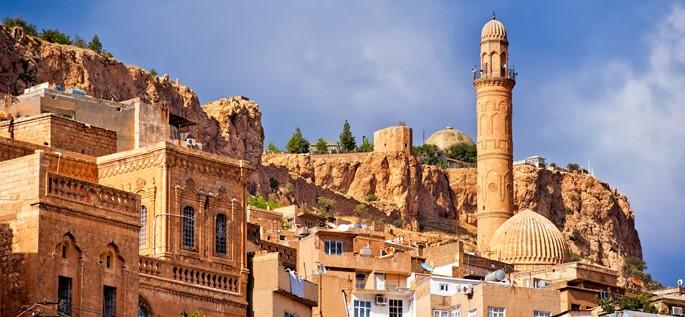 Aramaic language, Old town of Mardin