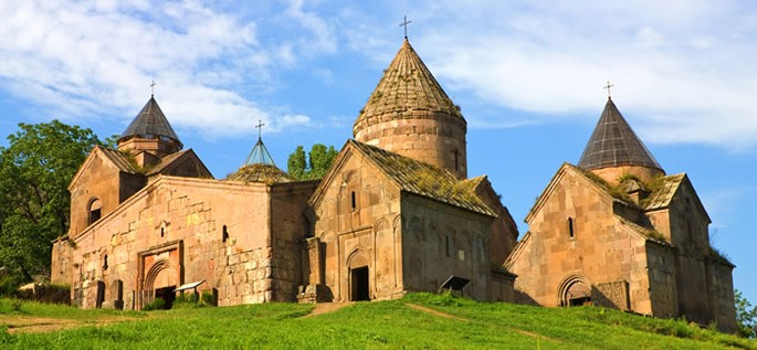 Learn about the Armenian language, Goshavank Monastery