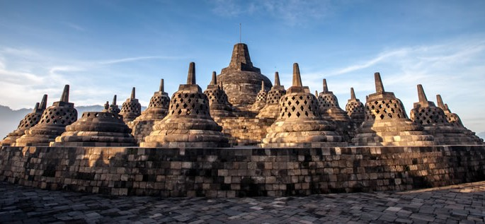 Austronesian language family, Borobudur Temple