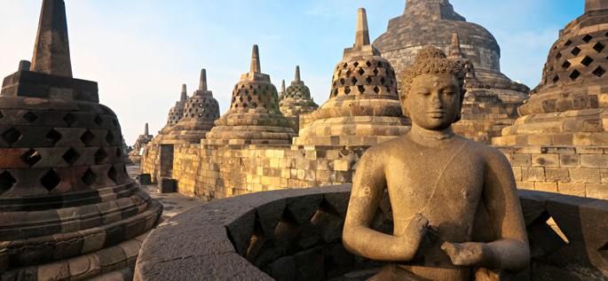 Indonesian (Bahasa Indonesia) language, Borobudur Temple