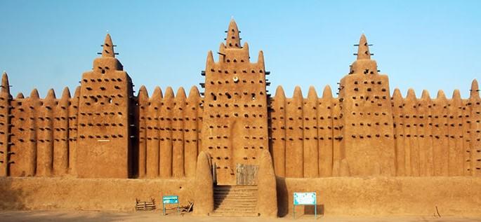 Bamanankan language, Great Mosque of Djenné