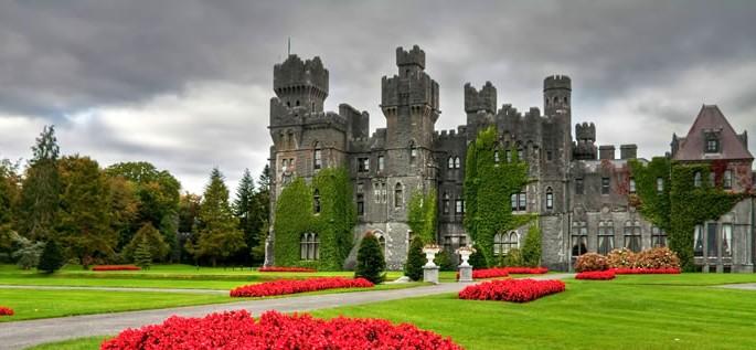 Irish Gaelic language, castle