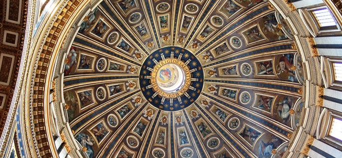 Latin language, St. Peter's Basilica