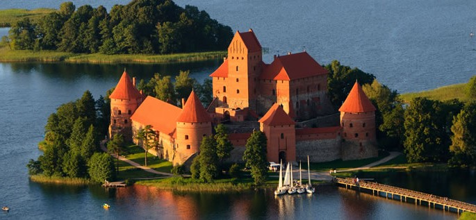 Lithuanian language, Trakai Castle