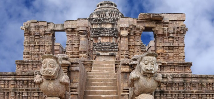Oriya language, Konark Sun Temple