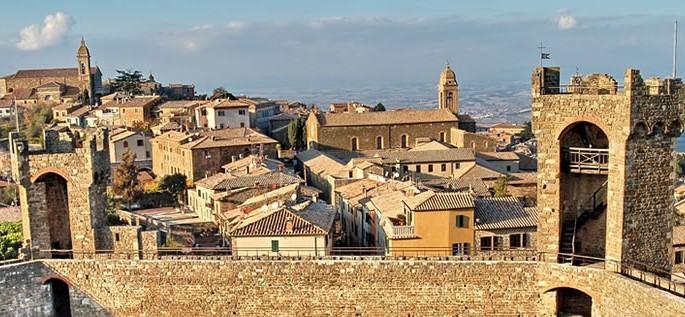 Romance languages branch, Fortezza di Montalcino
