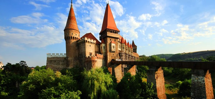 Romanian language, Corvin Castle