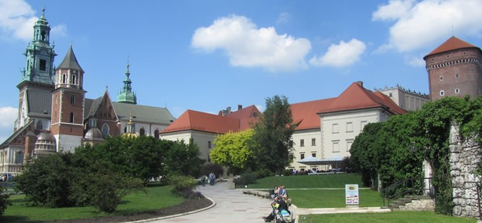 Slavic language branch, Wawel Royal Castle