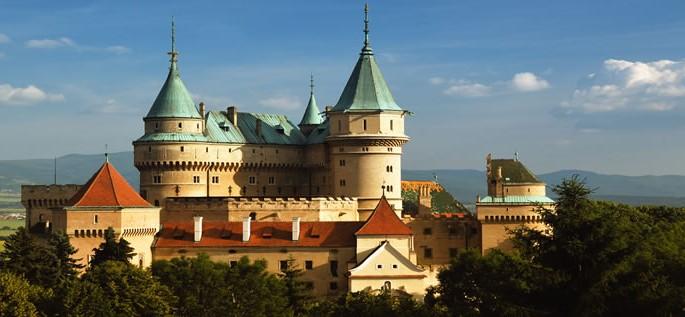 Slovak language, Bojnice Castle