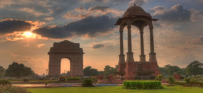 Urdu language, India Gate