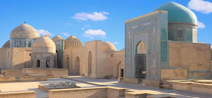 Uzbek language, Shah-i-Zinda