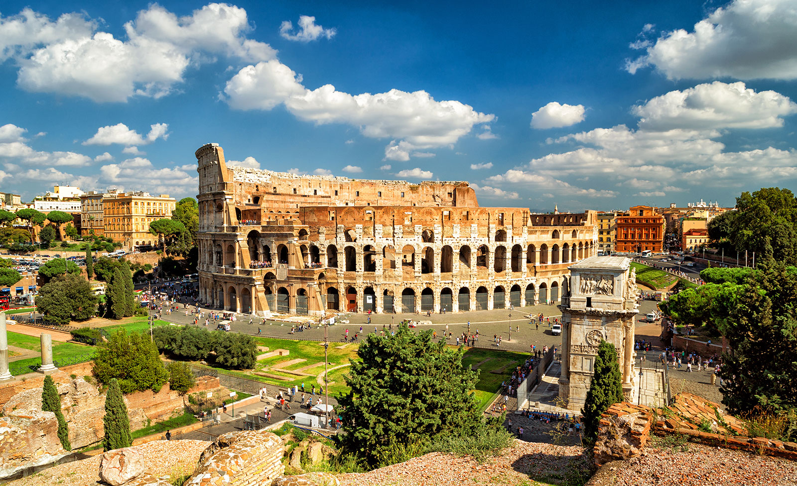 Visit Rome In Summer