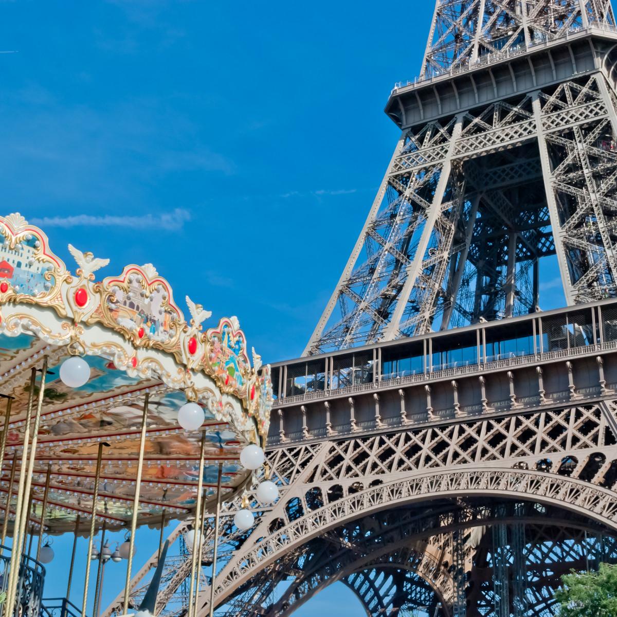 Tower Eiffel in Paris
