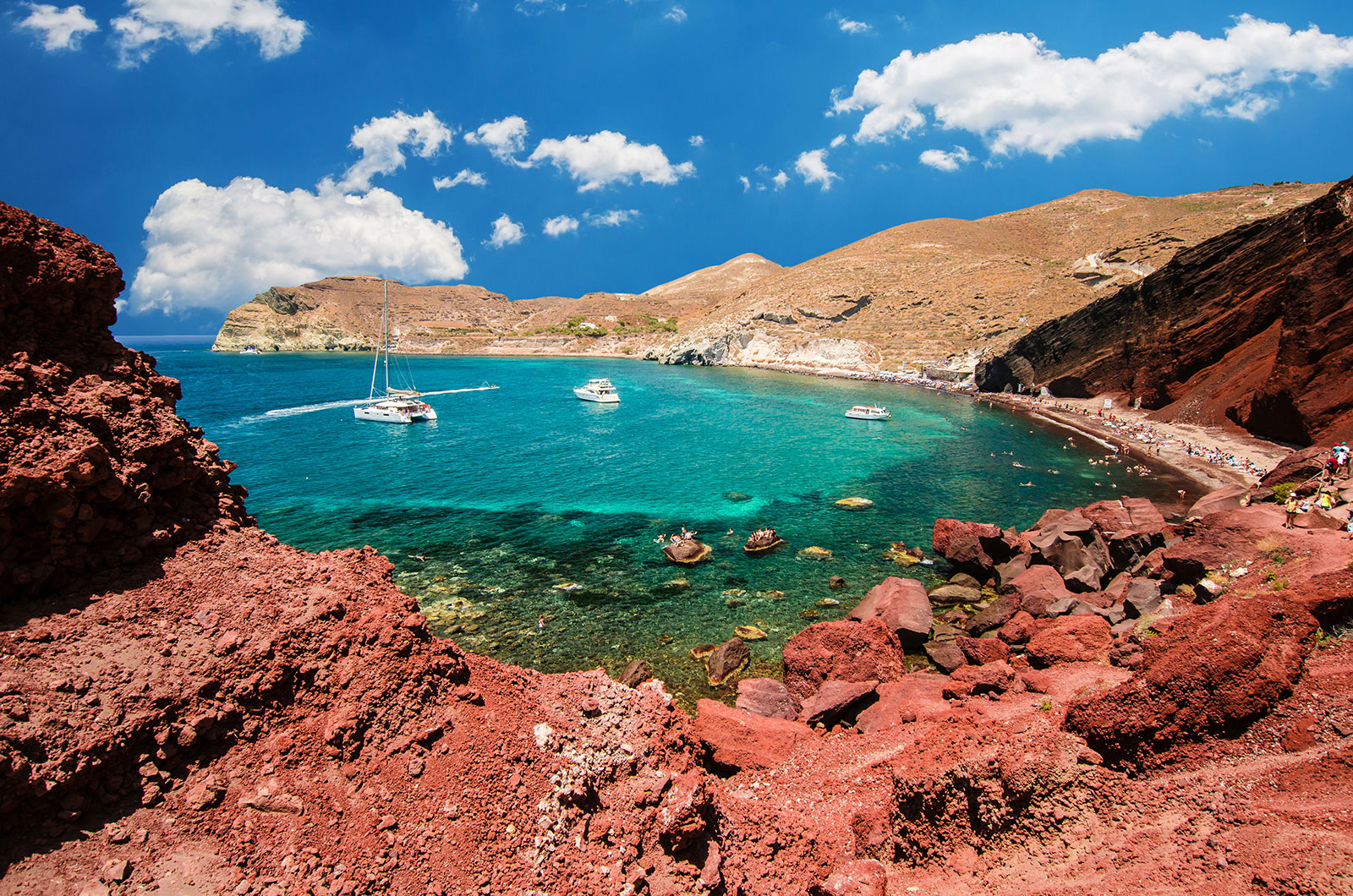 Go for a Swim at Red Beach