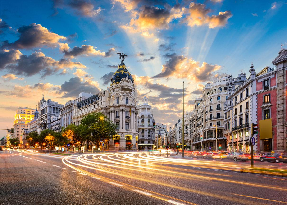 Trip to Madrid, Gran Via Madrid