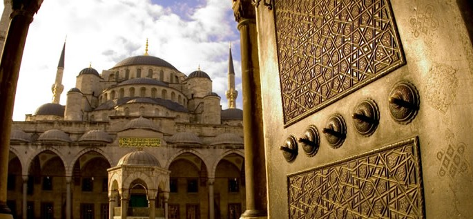 Turkish language, Sultan Ahmed Mosque