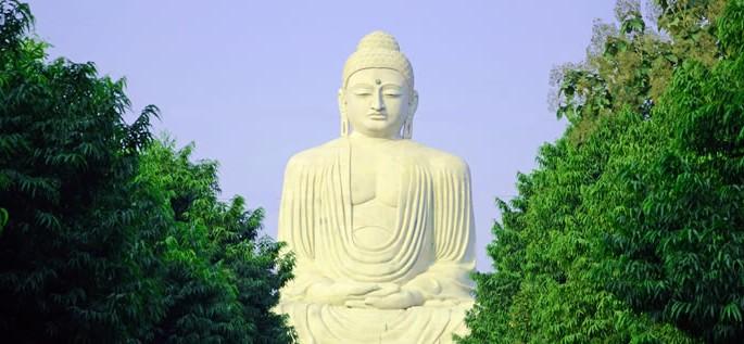 Maithili language, the Great Buddha statue