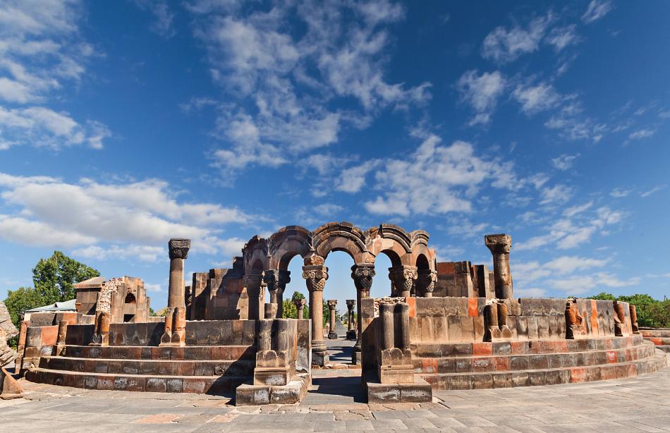 Zvartnots Cathedral Armenia