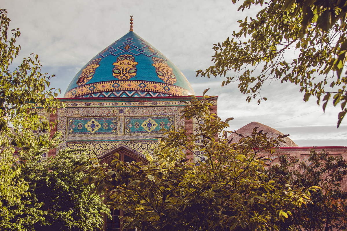 See the Blue Mosque in Armenia.