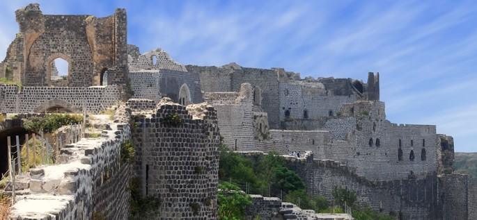 Brahui language, ruins