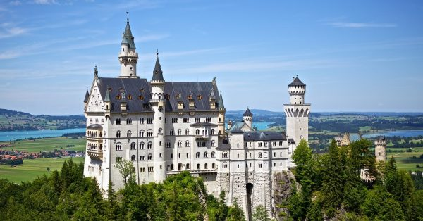 German language, Neuschwanstein Castle in Bavaria